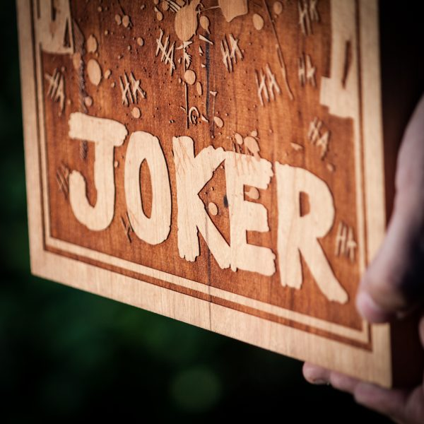 The Joker Close Up Detail